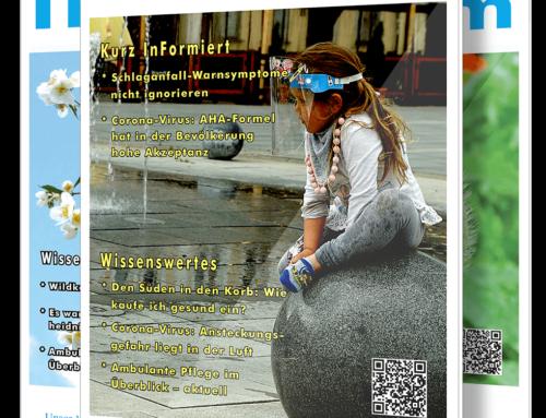Neue Ausgabe des InForm Magazin