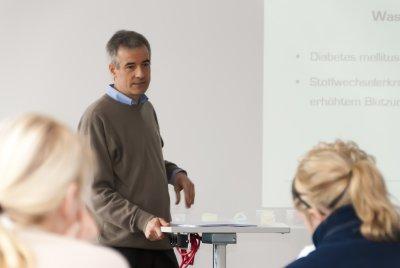 """""""Diabetes mellitus"""" Schulung durch Herrn Dadder (Vincent Apotheke)"""